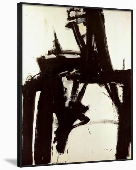 Untitled, 1957-Franz Kline-Framed Art Print