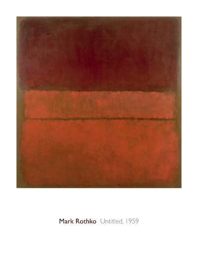 Untitled, 1959-Mark Rothko-Art Print