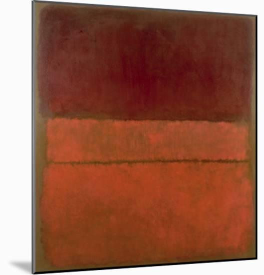 Untitled, 1959-Mark Rothko-Mounted Art Print