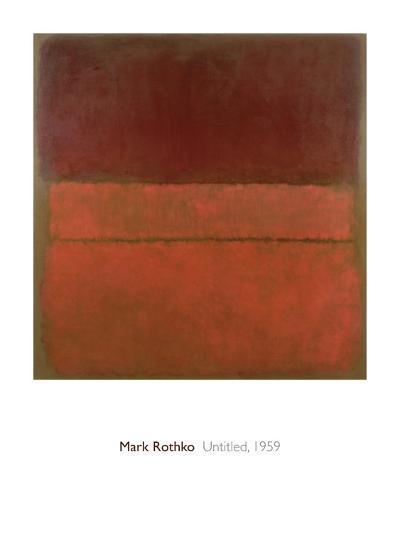 Untitled, 1959-Mark Rothko-Giclee Print