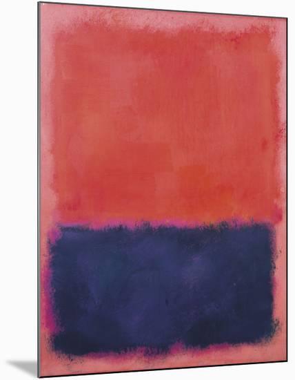 Untitled, 1960-61-Mark Rothko-Mounted Art Print