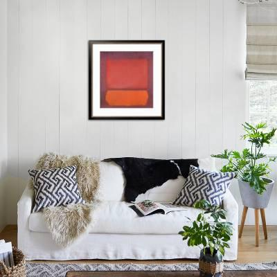 bamboo source tropical home decor with red sofa and blue.htm untitled  1962  art print mark rothko art com  untitled  1962  art print mark rothko
