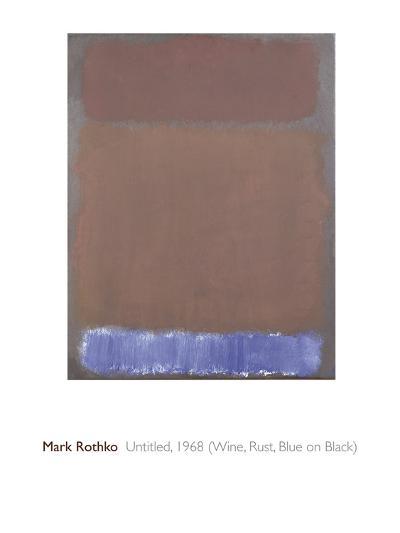Untitled, 1968-Mark Rothko-Giclee Print