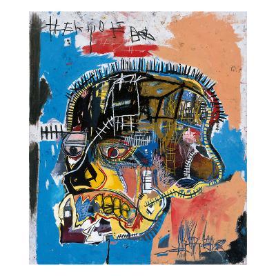 Untitled, 1981 (Basquiat Skull)-Jean-Michel Basquiat-Premium Giclee Print