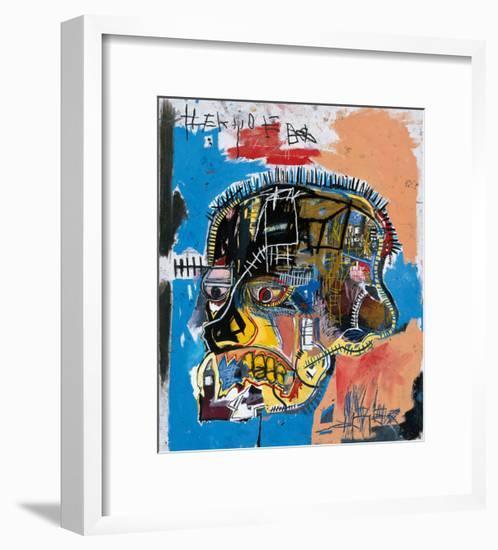 Untitled, 1981 (Basquiat Skull)-Jean-Michel Basquiat-Framed Giclee Print