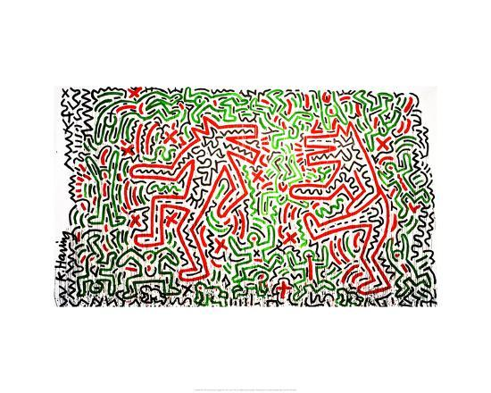 Untitled, 1981-Keith Haring-Giclee Print