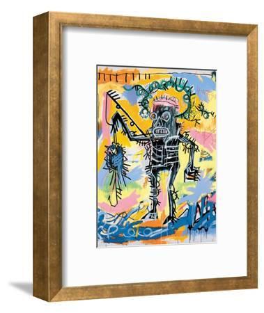 Untitled, 1981-Jean-Michel Basquiat-Framed Giclee Print