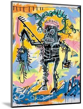 Untitled, 1981-Jean-Michel Basquiat-Mounted Giclee Print
