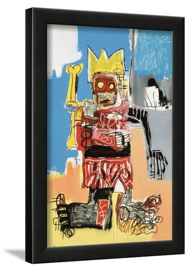 Untitled, 1982-Jean-Michel Basquiat-Framed Giclee Print