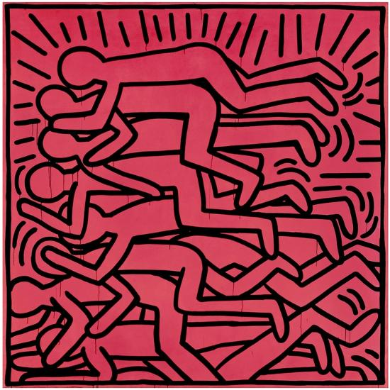 Untitled, 1982-Keith Haring-Giclee Print