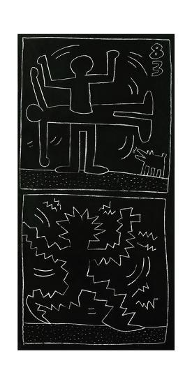 Untitled, 1983-Keith Haring-Giclee Print
