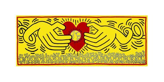 Untitled, 1985-Keith Haring-Giclee Print