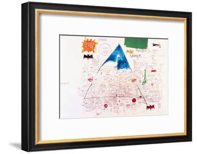 Untitled, 1986-Jean-Michel Basquiat-Framed Giclee Print
