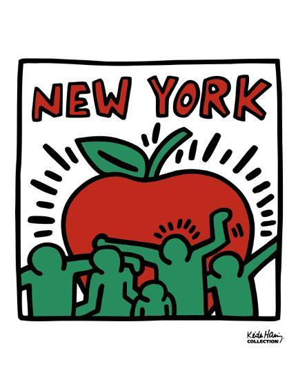Untitled, 1989-Keith Haring-Art Print