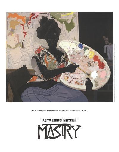 Untitled (2009)-Kerry James Marshall-Art Print