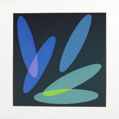 Untitled 2-Helen Thomas-Serigraph