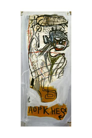 Untitled (Aopkhes)-Jean-Michel Basquiat-Giclee Print