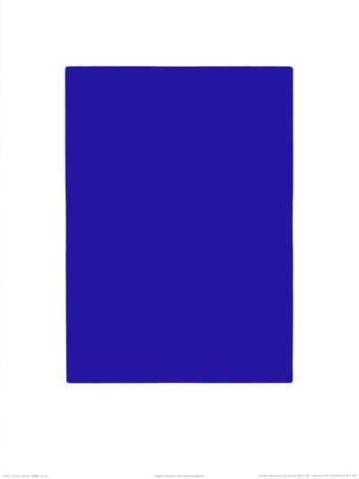 Untitled, Blue Monochrome, c.1961 (IKB73)-Yves Klein-Serigraph