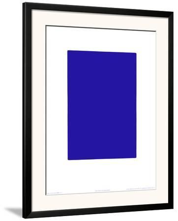 Untitled, Blue Monochrome, c.1961 (IKB73)-Yves Klein-Framed Art Print