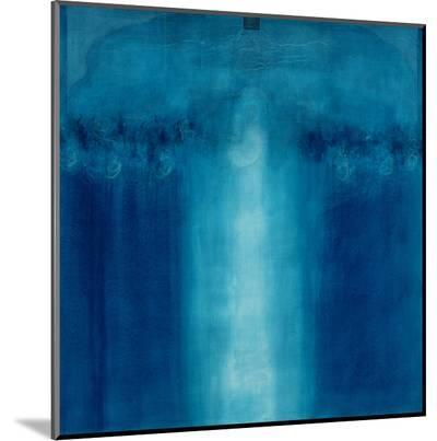 Untitled Blue Painting, 1995-Charlie Millar-Mounted Print