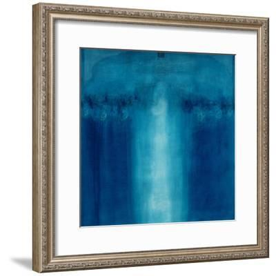 Untitled Blue Painting, 1995-Charlie Millar-Framed Giclee Print