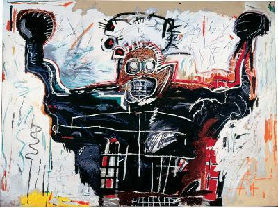 Untitled (Boxer)-Jean-Michel Basquiat-Giclee Print