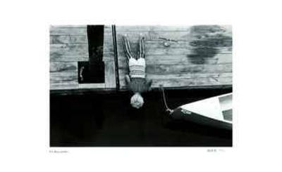 Untitled - Boy Looking in Water-B^ A^ King-Limited Edition
