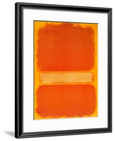 Untitled, c.1956-Mark Rothko-Framed Art Print