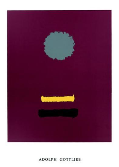 Untitled, c.1969-Adolph Gottlieb-Serigraph