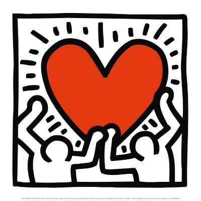 Untitled, c.1988-Keith Haring-Art Print