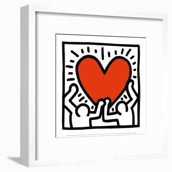 Untitled, c.1988-Keith Haring-Framed Art Print