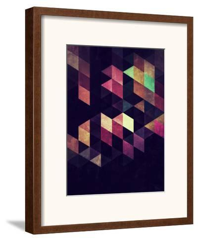 Untitled (CARNY1A)-Spires-Framed Art Print