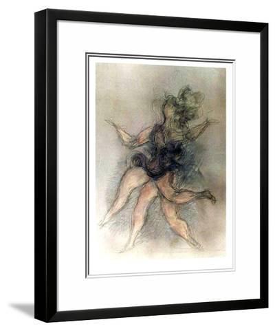 Untitled (Dancer)-Chaim Gross-Limited Edition Framed Print