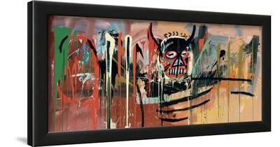 Untitled (Devil)-Jean-Michel Basquiat-Framed Giclee Print