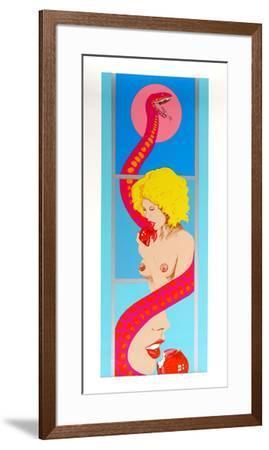 Untitled - Eve-Bob Pardo-Framed Serigraph