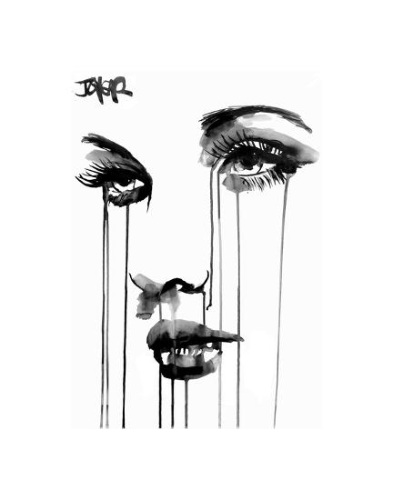 Untitled Face #4-Loui Jover-Art Print