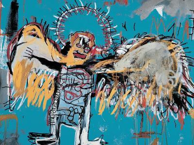 Untitled (Fallen Angel), 1981-Jean-Michel Basquiat-Giclee Print