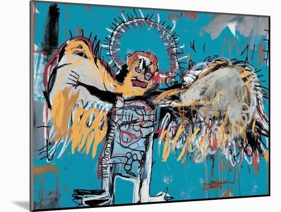 Untitled (Fallen Angel), 1981-Jean-Michel Basquiat-Mounted Giclee Print