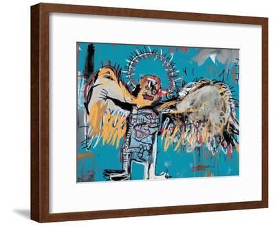 Untitled (Fallen Angel), 1981-Jean-Michel Basquiat-Framed Giclee Print