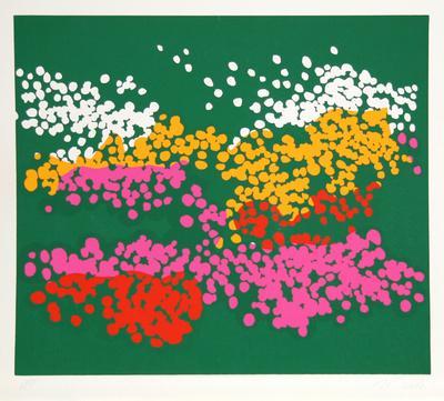 Untitled - Floral Park-Nadine Prado-Serigraph