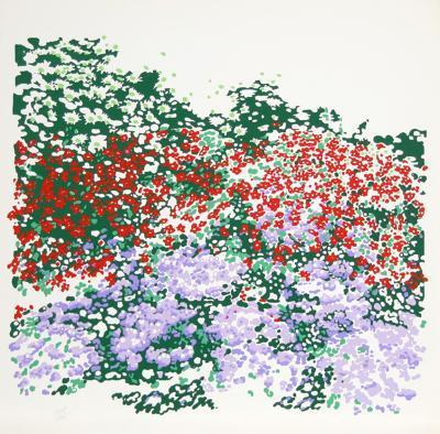 Untitled - Flower Field-Nadine Prado-Limited Edition