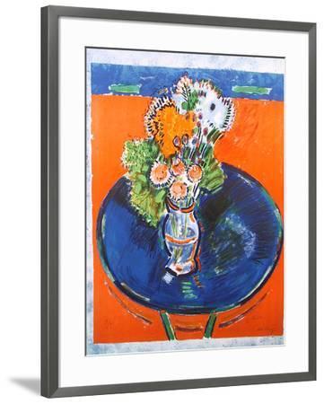 Untitled Flowers 17-Wayne Ensrud-Framed Limited Edition