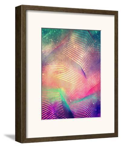 Untitled (gyt th'fykk yyt)-Spires-Framed Art Print