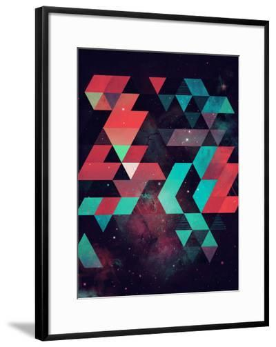 Untitled (hyzzy fyt tyrq)-Spires-Framed Art Print