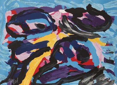 Untitled - I-Karel Appel-Limited Edition