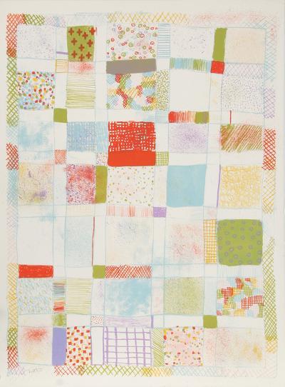 Untitled - III-Robert Natkin-Collectable Print