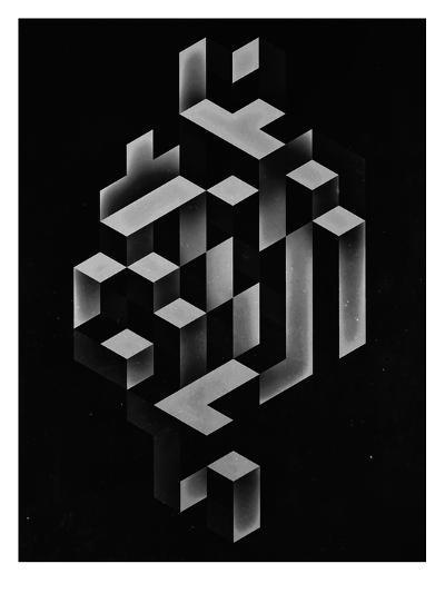 Untitled (isyhyrrt gryy)-Spires-Art Print