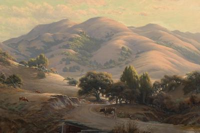 Untitled (Landscape with Mount Tamalpais), 1908-Jack Wisby-Giclee Print