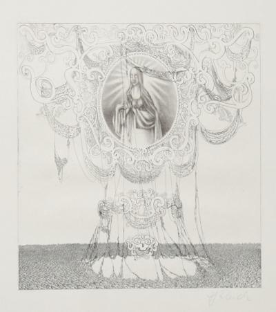 Untitled - Madonna Shrine-Rauch Hans Georg-Limited Edition