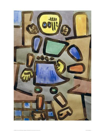 Untitled Mannequin-Paul Klee-Giclee Print